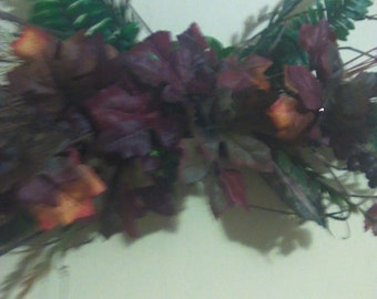 Figure 8 ,(eight) Style Fall Wreath