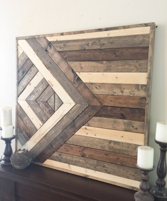 Reclaimed Home Decor: Reclaimed Wood Wall Art Wooden Wall Decor By