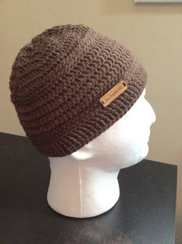 Brown kufi crochet khufi mens beanie womens slouch beanie zoom bankloansurffo Choice Image