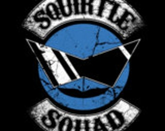 Squirtle Squad Cross Stitch Pattern