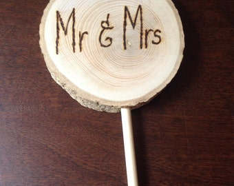 Wood sign - double sided messages!