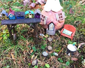 how to make fairy garden items