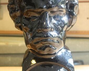 "black glass display head ""beethoven"""