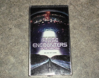 Vintage 1990 VHS - Close Encounters Of The Third Kind - Collectors Edition - 1977 Columbia