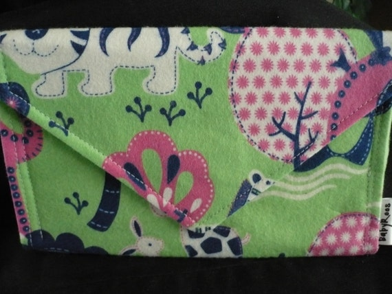 Zoo Animals Wallet/ Cell Phone Purse