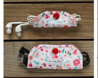 MTO Ear buds & charger holders - Flowers