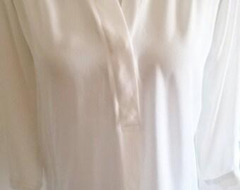 White Blouse / Size 10