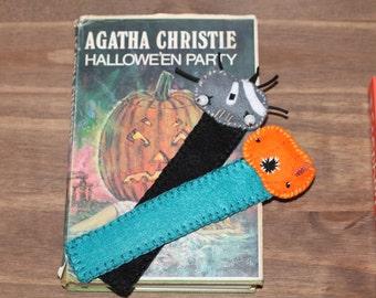 Felt Zombie Bookmark