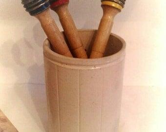 Vintage Hartley's Jam, Preserve, Stoneware, Jar, Pot.