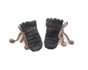 Crochet Mittens // Baby Mittens // Winter Mittens