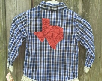 Texas Tee - Toddler Blue (3T)
