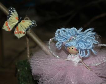 Sky Wire Fairy Doll