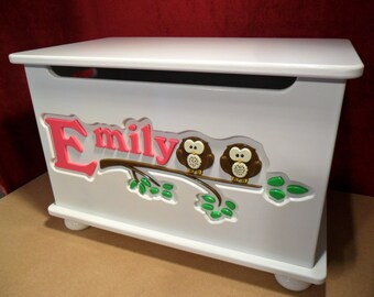 Personalized Toy Box, handmade toy chest, Toybox