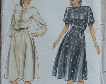 Vintage sewing Pattern. Butterick 3959. Dress pattern  Size 12