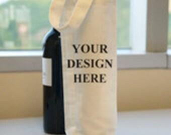Personaliserte wine bags