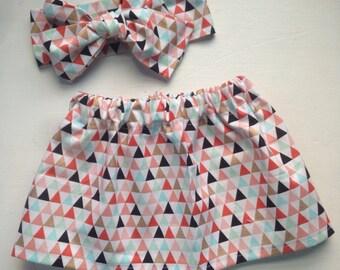 Golden Triangles Skirt