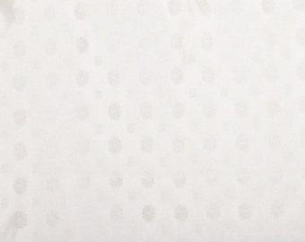 Ivory Check Taffeta Brocade Fabric-By-The-Yard