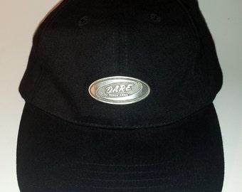 Black D.A.R.E. Hat