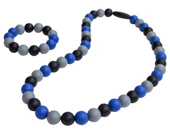 Munchables Chewelry - Midnight Blues Sensory Chew Necklace