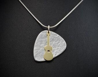 Guitar pendant,