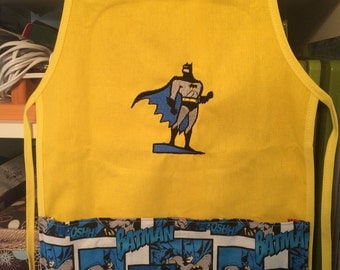 Personalized Batman apron-any character or theme!