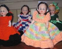 Holiday Crochet Air Freshener Doll Cover Vintage Air Freshener Doll Cover Retro Crochet Air Freshener Doll Cover Air Freshener Doll
