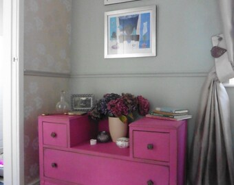 Hot Pink Dressing Table