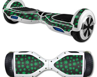 Skin Decal Wrap for Self Balancing Scooter Hoverboard unicycle Marijuana