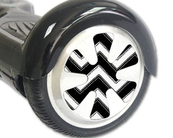 Skin Decal Wrap for Hoverboard Balance Board Scooter Wheels Chevron Style