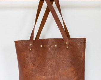 Seanna / Leather Tote / LEO LEBEL