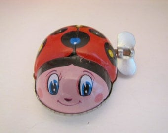 Vintage Toy Hero Pocket Pet Lady Bug