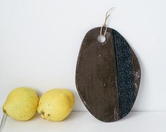 Ceramic cheese board, Serving board
