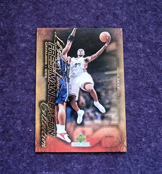 LEBRON JAMES Basketball Card Upper Deck Rookie 2003 Freshman