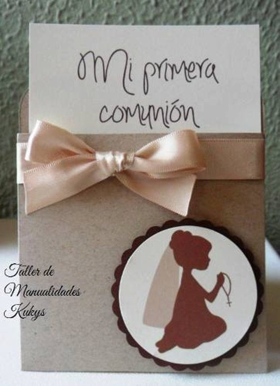 Invitaciones primera comuni n - Invitaciones comunion busquets ...