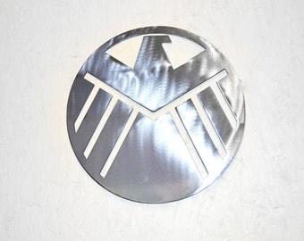 Plasma Agents of Shield Metal Wall Art