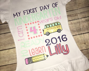 My First Day of? Shirt
