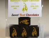 Habanero Pepper Dark Chocolate 4pc