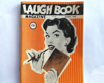 Laugh Book Magazine March 1959