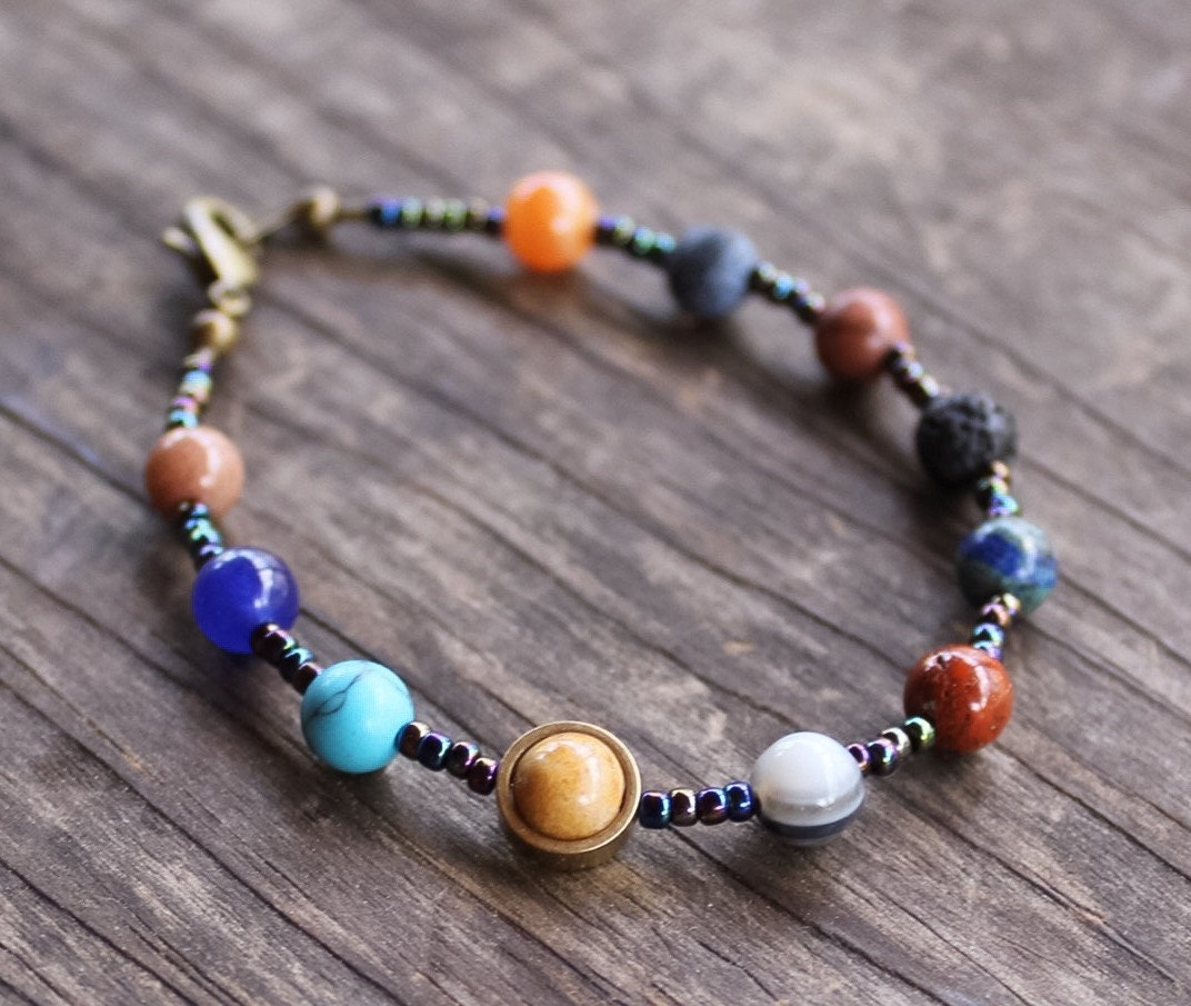 solar system bracelet - photo #5