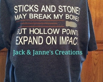 Sticks and Stones T Shirt