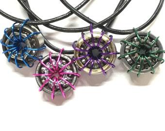 Custom Roller Skate Bearing Necklace
