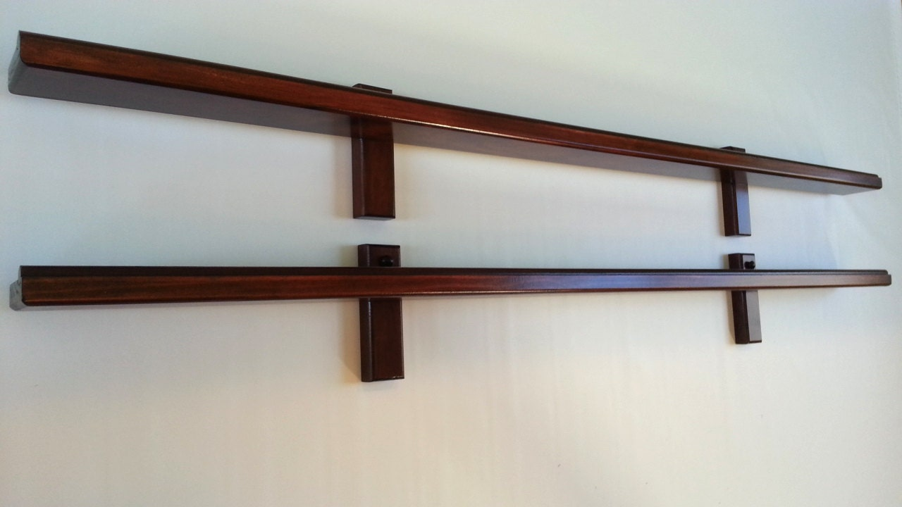 Picture ledge 2 picture ledges picture shelf for Wall shelves and ledges
