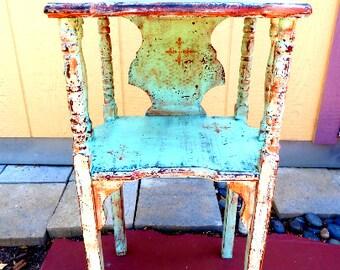 Boho Chic End Table