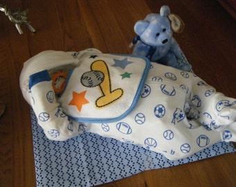 DIAPER BABY/Baby Boy Diaper Baby/Baby Shower Boy Gift/New Mom Baby Gift/Beanie Baby