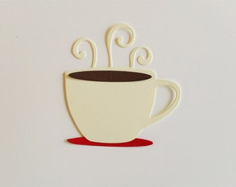 Coffee, Hot Cocoa, or Tea Die Cuts