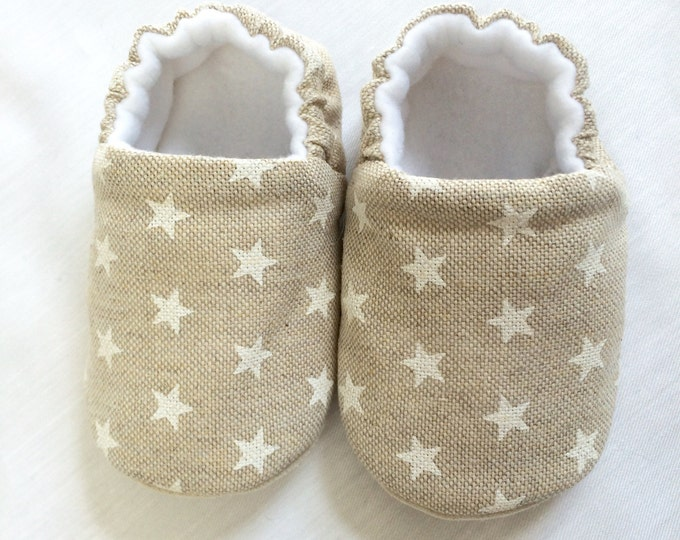 My shining star, pre walker baby bootie, soft sole slip on shoe
