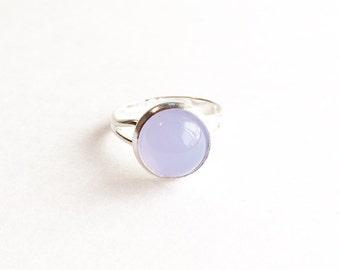 Adjustable Gumdrop Ring - Lilac