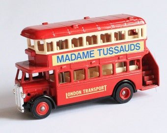 Vintage London Bus Unboxed Lledo Days Gone No. 15 Die Cast Model London Transport  1980s Collectible Gift Home Decor