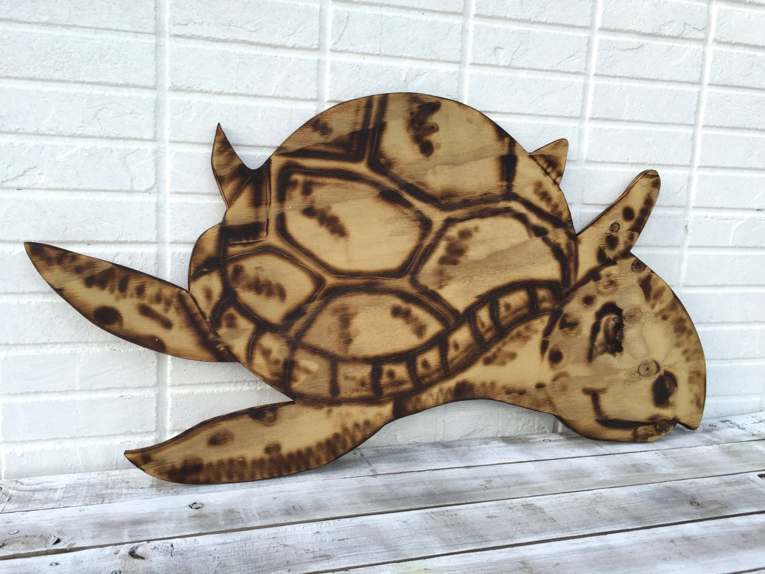 superb wooden turtle wall art 8