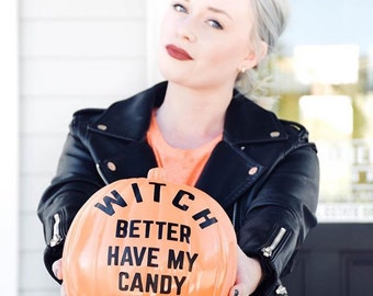Witch Better Have My Candy Pumpkin Decals Halloween Decals DIY Halloween Witch Halloween Halloween Pumpkins DIY Jack O Lanterns Happy Hallo